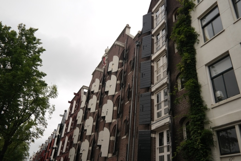 Amsterdam's wonderful architecture.