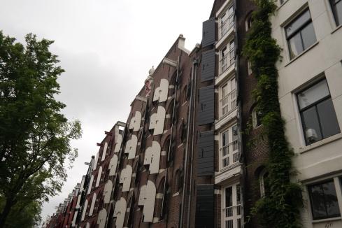 Amsterdam's wonderful architecture.