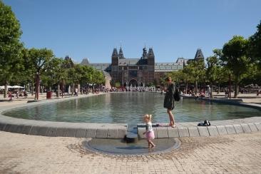 View to the Rijksmuseum