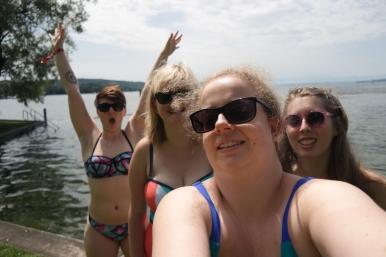 Swimwear selfie!