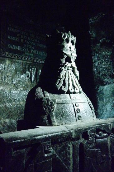 A salt statue