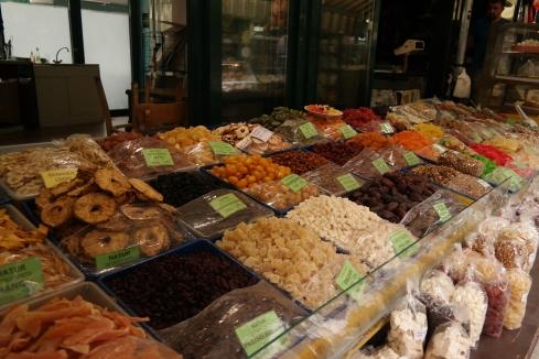 A stall at the Naschmarkt