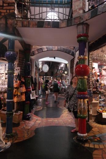 Inside the Hundertwasser village