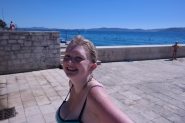 Emily at the beach!
