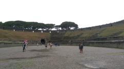 In the amphitheatre