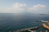 The view to Vesuvius