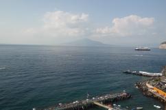 The view to Vesuvius
