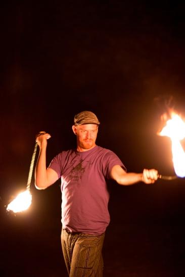 Jon performing (Photo by Harold Dahl)
