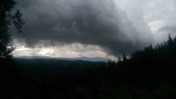 The storm!