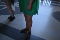 Shameful knees!