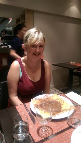 Emily and her crepe