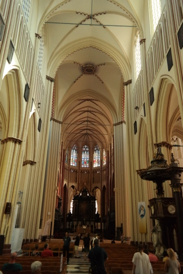 Inside St Savior's Cathedral