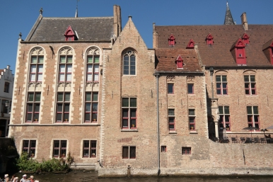 """Ken and Ray's hotel in """"In Bruges"""""""