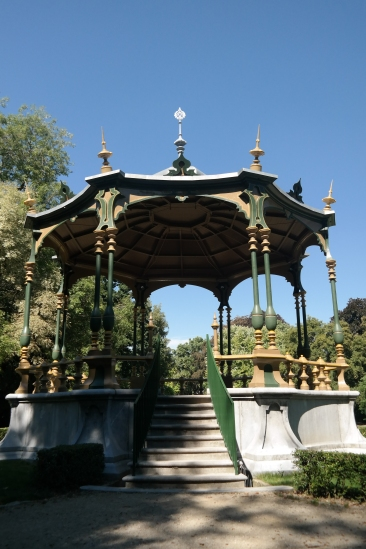 Band stand in Astrid Park