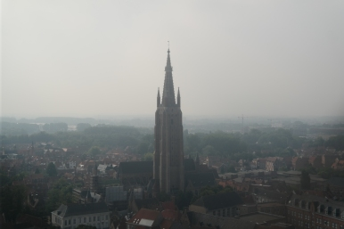 View of Church of Our Lady
