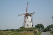 Windmill by Damme