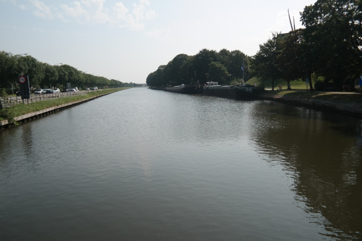 The canal back from Damme