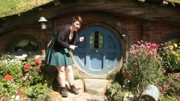 Me outside Sam's pre-fellowship house!