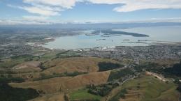 View to Abel Tasman while Paragliding
