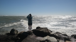 Liza by the sea