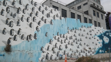 An environmental mural