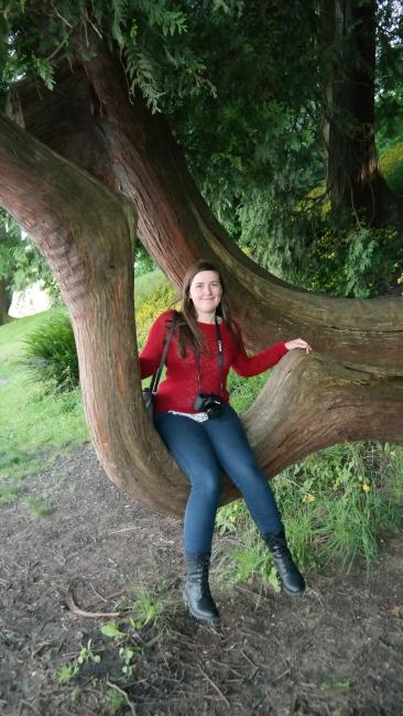 Eva in a tree