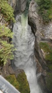 A beautiful falls at the canyon