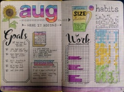 August Monthly View