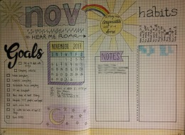 November Monthly View