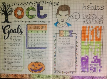 October Monthly View