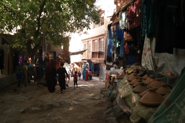 The shady streets of Imlil