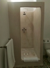 Our really cool shower